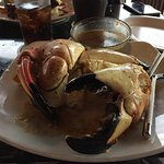 Order the stone crab it was excellent. The sauce was great