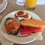 Breakfast snacks on arrival
