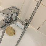 Salle de bain très vétuste