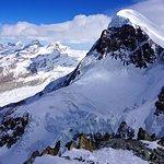 Aussicht vom glacier paradise (Breithorn)