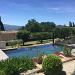 Enjoy the infinity pool and views of the Luberon