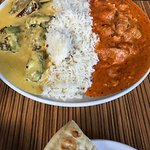 Daily lunch special, Kadhi Pakora and Butter chicken