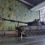 Canadian War Museum , Ottawa. Modern Canadian tank.