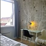 Double room, very stylish and scandinavian