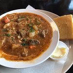 Hungarian Beef Goulash with Cornbread