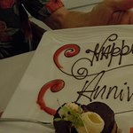 They always remember your special day from year to year--Sugar Mill restaurant