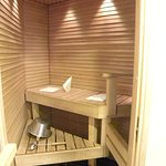 Private sauna of junior suite