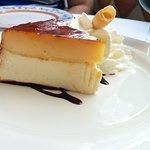 tarta de queso y yema (tocinillo de cielo)