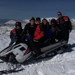 Snowmobiling was great!