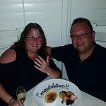 Thanks to the very generous staff, the proposal went perfectly!