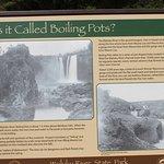 Explanation Board @ Wailuku  River State Park