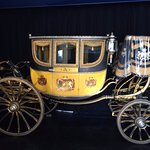 Carriage on display