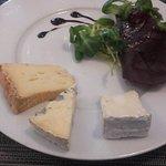 Les fromages de Fromages et Terroirs présentés à l'assiette