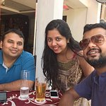 Us 3 friends, visiting Zuperb