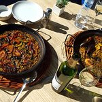 vegan and seafood paellas desappear quickly so yummy!!cant last!!
