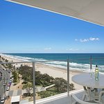 All the aprtments have a north facing balcony with the same fantastic views