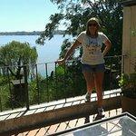 Terraza con vista al río!!