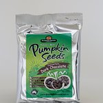 Our famous chocolate coated pumpkin seeds