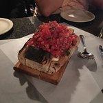 Bruschetta.  Mile high and delicious