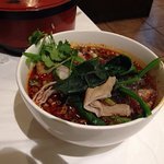 Sour and Spicy Intestine Noodle (with sweet potato noodles)
