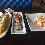 Round Rock, Spider roll, & Louisiana roll