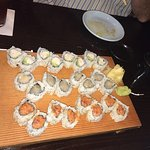Great sushi and sashimi!
