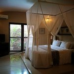 One of the massive bedrooms - it's 3 bedroom villa!
