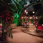 Secret Garden with food and drink ....amazing!
