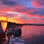 Sunset Bubbles at Noosa Boathouse