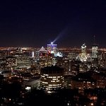 View from the top of mont royal