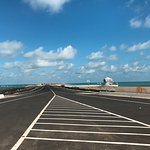 The road from Dhanushkodi village