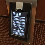 Crazy elevator keypad. Must select floor BEFORE entering. Pad is cumbersome and non responsive.