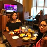 Breakfast @ the Concierge Lounge