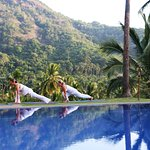 A beautiful place to practice yoga and meditation in peaceful surroundings