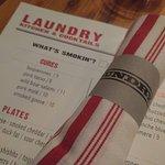 Laundry Menu