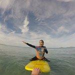 Intermediate surf class