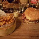 Le burger au chèvre