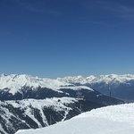 Overlooking the Alps