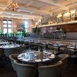 The Zaika dining room