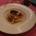 Un plat au poisson délicieux