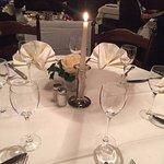 dinner table decoration