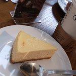 New York Cheesecake & Vanilla Black Tea Latte