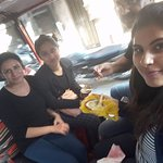 Having Rabri after Lunch at Kesar ka Dhaba