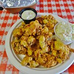 Fried whole clams