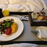 Vegetarian Breakfast in Bed