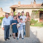 The Moricciani Family at Farmhouse Cretaiole