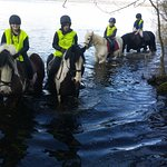 Riders in the Lough