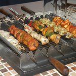 Live Barbeque on yout table