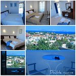 Double rooms with amazing sea view