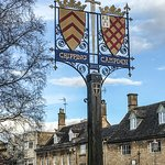 Chipping Campden sign in the street